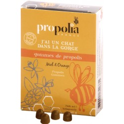 Gommes  de Propolis - Orange